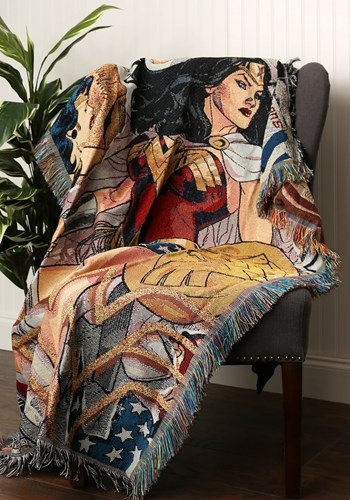 Wonder Woman Gone Wonder Woven Tapestry