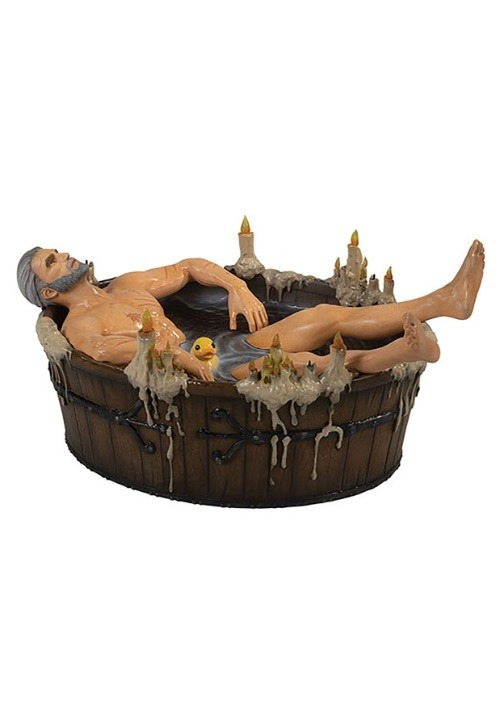 The Witcher 3 Geralt in Bath Statuette