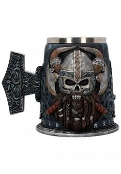 Danegeld Viking Skull Tankard 18cm