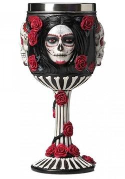 Sugar Skull Goblet 19.5cm