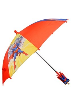 Kids Superman Umbrella Alt 2
