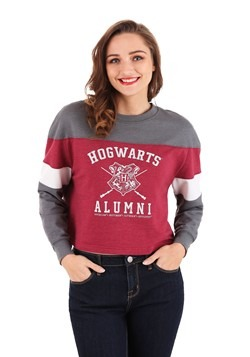 Juniors Hogwarts Alumni Long Sleeve Tee
