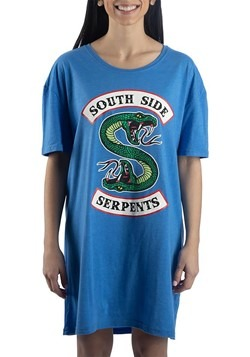 Riverdale South Side Serpents Sleep Shirt for Women