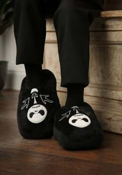 Nightmare Before Christmas Glow In The Dark Plush Slippers-U