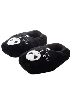Nightmare Before Christmas Glow In The Dark Plush Slippers A