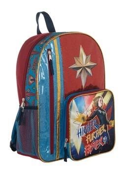 Kids Captain Marvel Backpack Alt 2