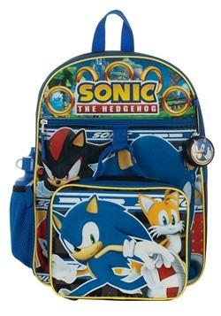 Kids Sonic 5 PC Backpack Set Alt 1