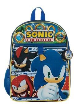 Kids Sonic 5 PC Backpack Set Alt 3