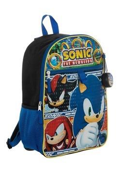 Kids Sonic 5 PC Backpack Set Alt 4