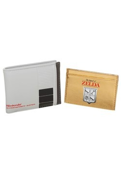 Nintendo 2 in 1 Bifold Wallet with Zelda Cartridge
