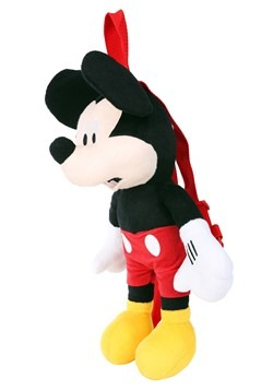 Disney Mickey Mouse Plush Backpack Alt 1