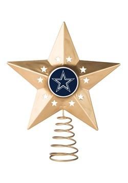 Dallas Cowboys Christmas Metal Tree Topper