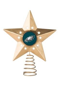 Philadelphia Eagles Christmas Metal Tree Topper
