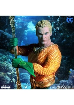 The One:12 Collective Aquaman Action Figure Alt 1