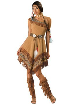 Women's Sexy Tribal Native Costume