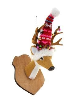 4 Festive Reindeer Ornament
