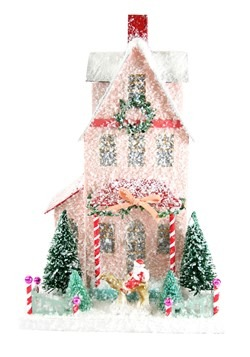 Merry Merry House Christmas Tabletop Decor