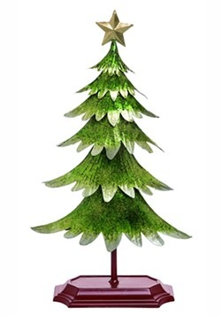 Metallic Green Christmas Tree