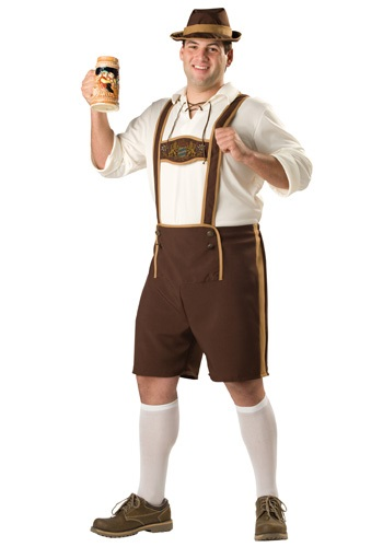 Bavarian Guy Plus Size Costume