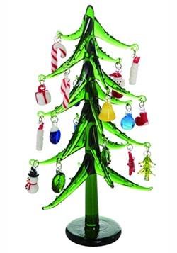 Glass Trinket Tree Christmas Décor