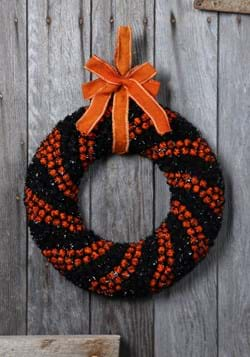 "16.5"" Foam Halloween Berry Wreath"
