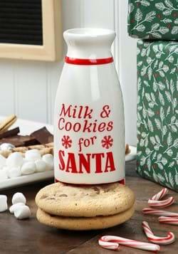 Santa's Milk & Cookies Milk Bottle