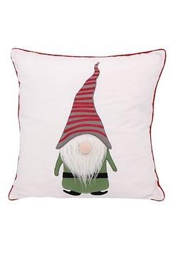 "Gnome Applique 16"" Pillow"