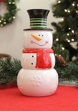 Snowman Stackable Measuring Cups Alt 1