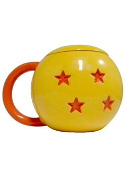 Dragon Ball 4 Star Mug w/ Lid