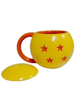 Dragon Ball 4 Star Mug w/ Lid Alt 1