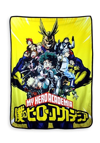 My Hero Academia Fleece w/ Sherpa Backing Blanket