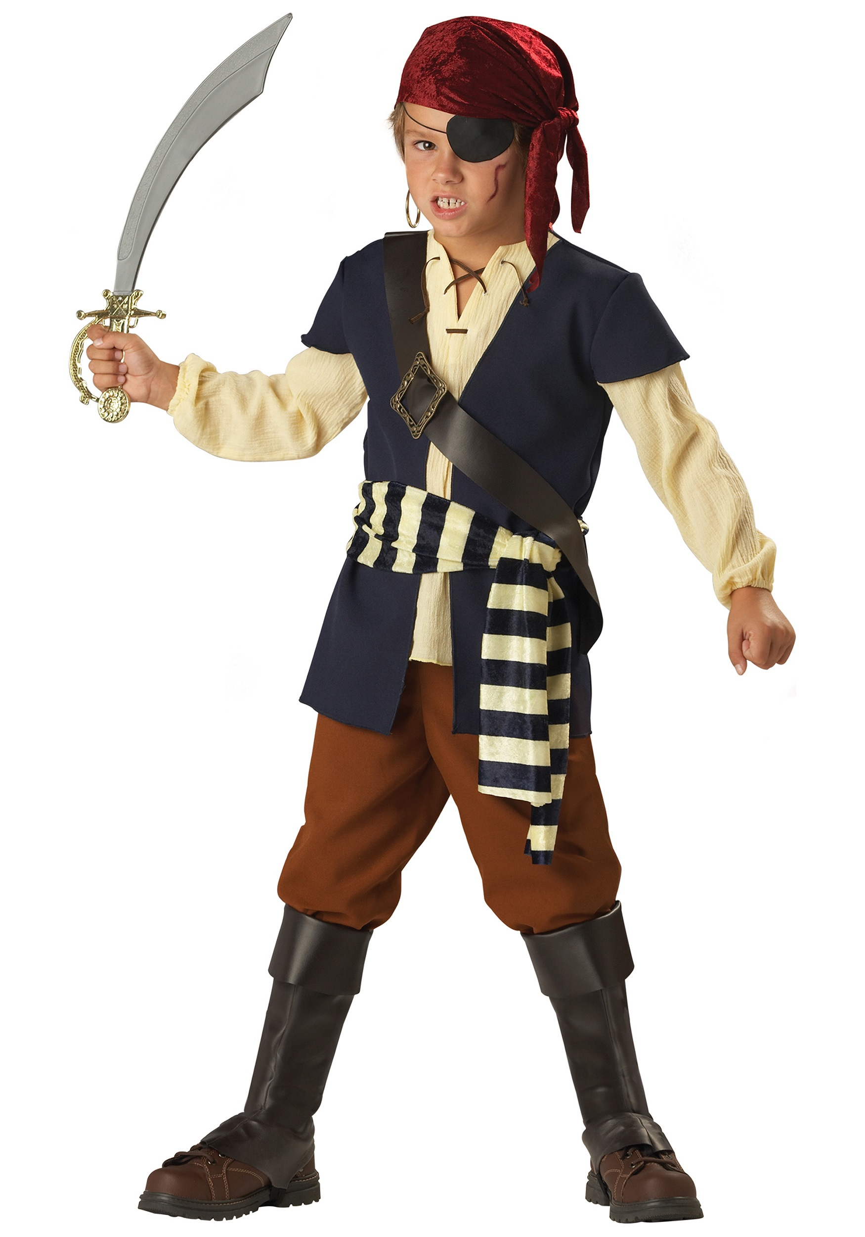 pirate mate boys costume