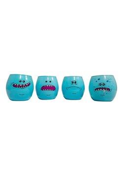Rick & Morty Meeseeks 4 Pack Shot Glass Set