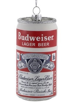 Budweiser Lager Beer Can Ornament