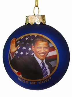 Obama Miss Me Now? Ornament
