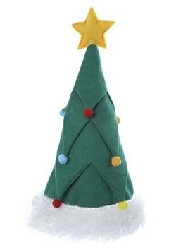 Felt Christmas Tree Hat