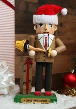 A Christmas Story Dad w/ Leg Lamp Nutcracker