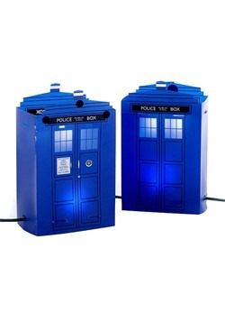 Doctor Who Tardis Luminary Outdoor Décor
