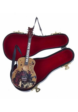 Grateful Dead Guitar w/ Black Case Ornament