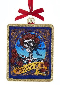 Grateful Dead Glass Ornament