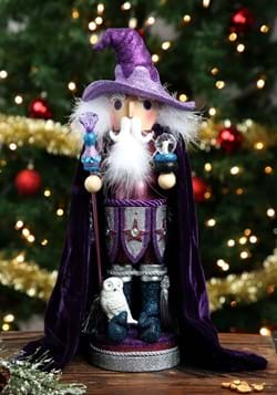 "Purple Wizard 18"" Hollywood Nutcracker"