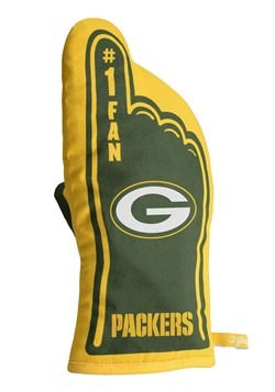 Green Bay Packers Oven Mitt Alt 1