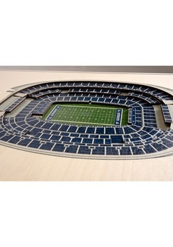 Dallas Cowboys 5-Layer Stadium Wall Art Alt 2