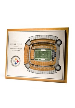 Pittburgh Steelers 5-Layer Stadium Wall Art