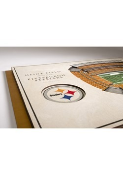Pittburgh Steelers 5-Layer Stadium Wall Art Alt 2