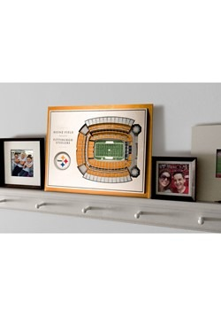 Pittburgh Steelers 5-Layer Stadium Wall Art Alt 3