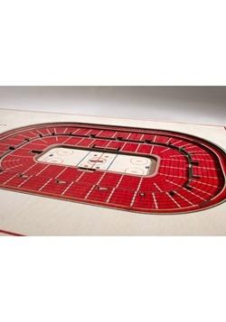 Detroit Red Wings 5-Layer Stadium Wall Art Alt 2