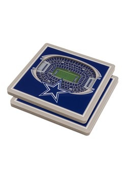 Dallas Cowboys 3D Stadium Coasters