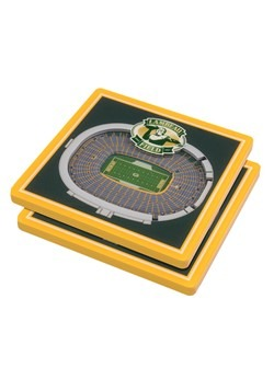 Green Bay Packers 3D Stadium Coasters