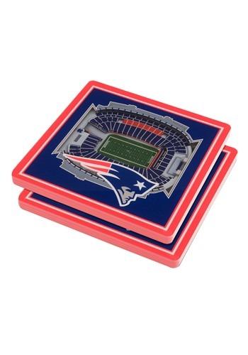 New England Patriots 3D Stadium Coasters